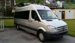 8 Seater Van Front