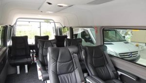Mini Van Swiss Tour Inside